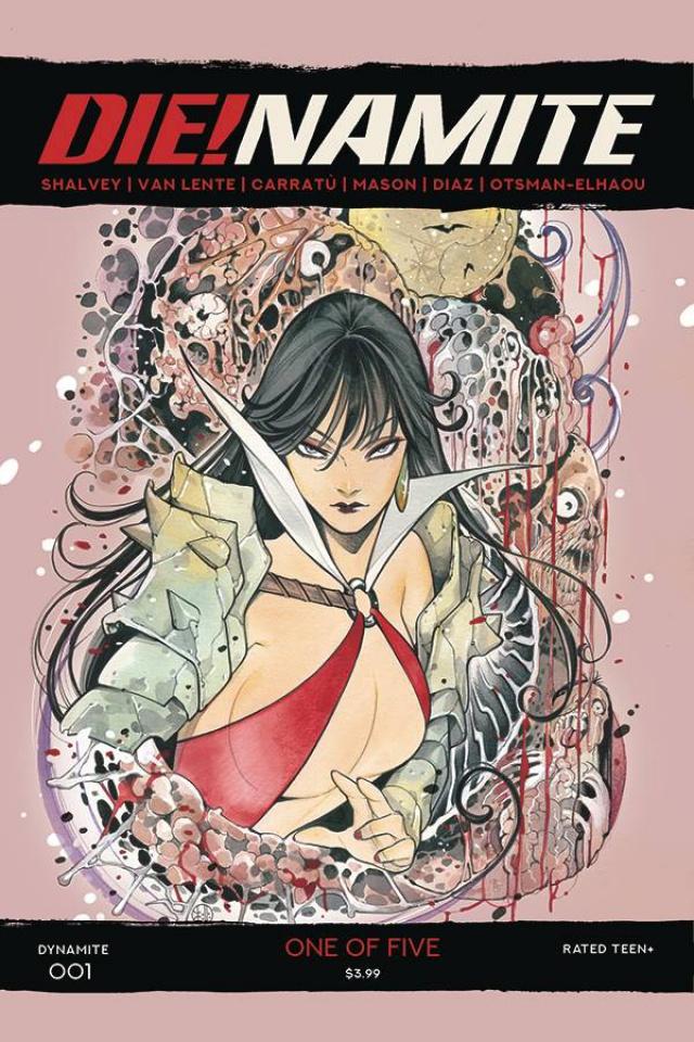 DIE!namite #1 (Momoko Vampirella Cover)