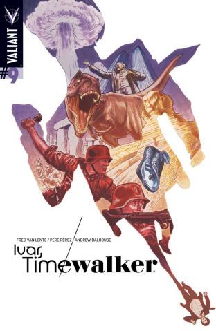 Ivar, Timewalker #9 (20 Copy Barrionuevo Cover)