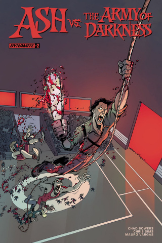 Ash vs. The Army of Darkness #2 (Vargas Cover)