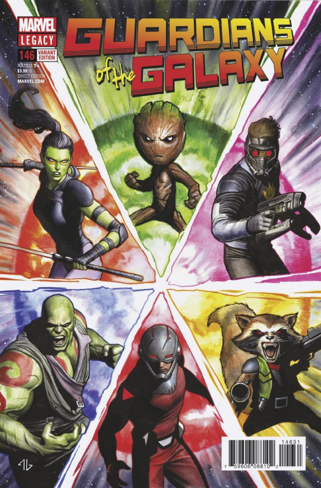 Guardians of the Galaxy #146 (Granov Cover)