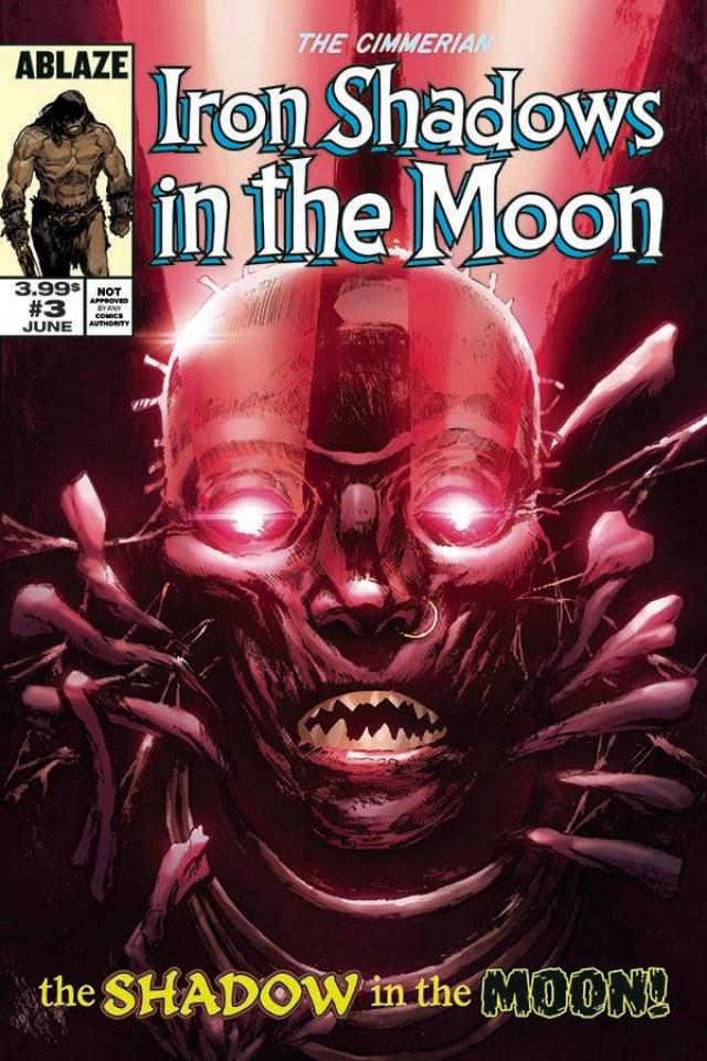 The Cimmerian: Iron Shadows in the Moon #3 (Fritz Casas Cover)