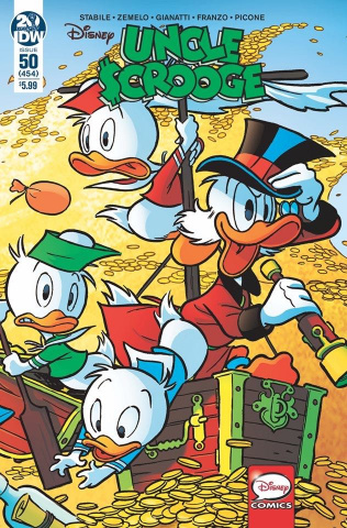 Uncle Scrooge #50 (Freccero Cover)