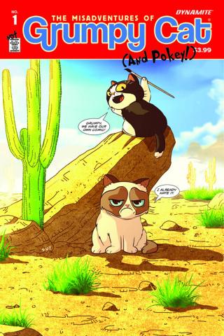 Grumpy Cat #1 (Uy Cover)