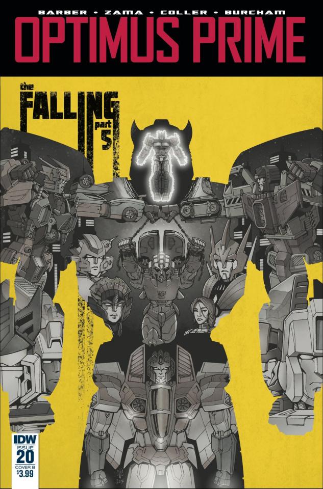 Optimus Prime #20 (Coller Cover)