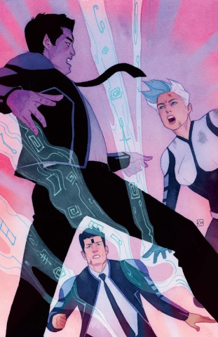 The Death-Defying Doctor Mirage: Second Lives #4 (Wada Cover)
