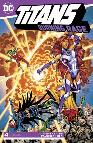 Titans: Burning Rage #4