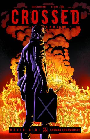 Crossed: Badlands #43 (Torture Cover)