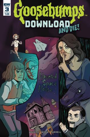 Goosebumps: Download and Die! #3 (Vaughn Cover)