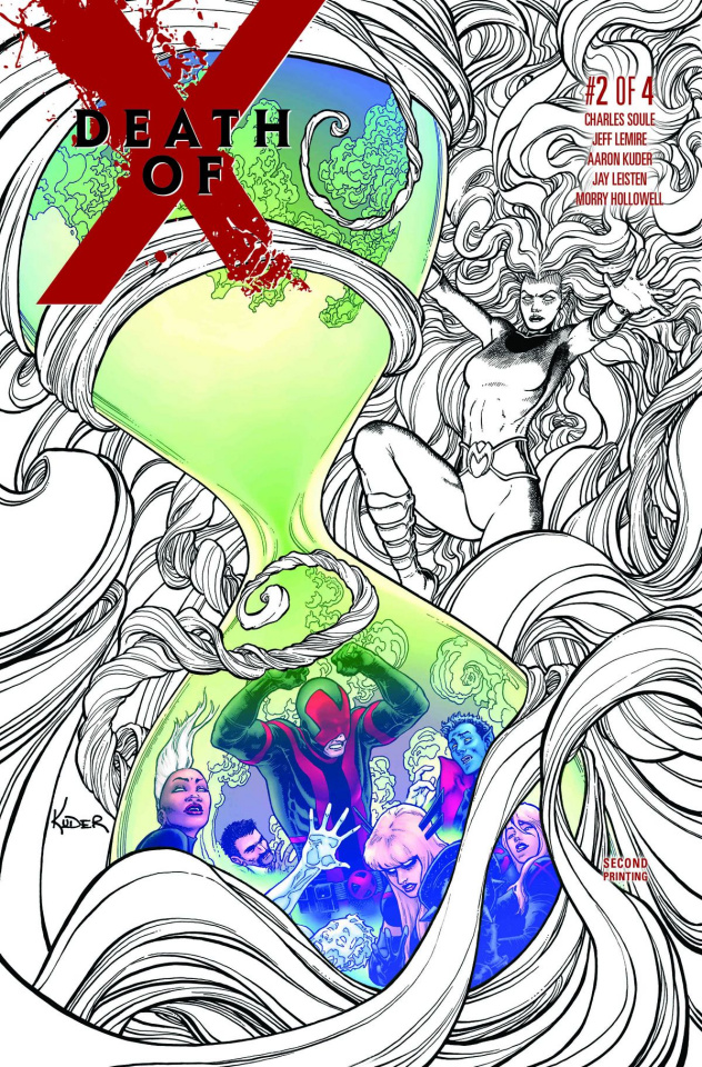 Death of X #2 (2nd Printing Kuder Cover)