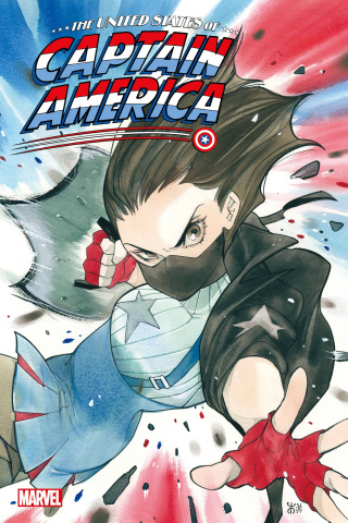 The United States of Captain America #4 (Momoko Cover)