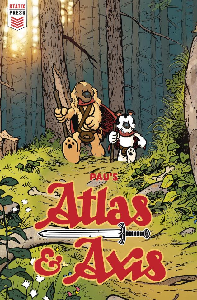 Atlas & Axis #1 (Pau Cover)