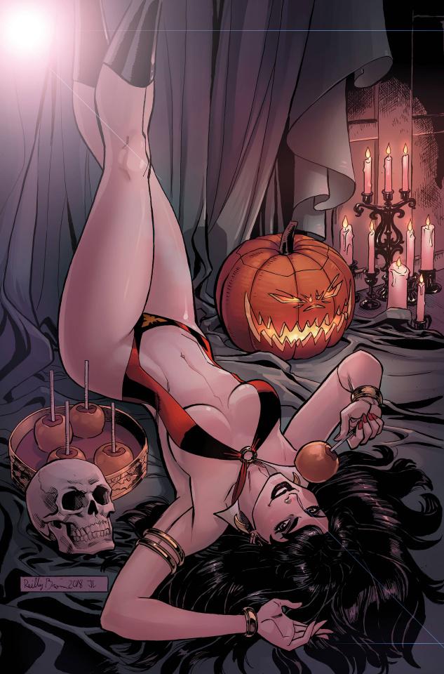 Vampirella Halloween Special (Metal Cover)