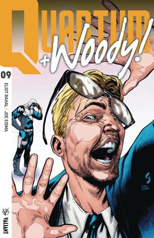 Quantum & Woody #9 (Ultra Foil Shaw Cover)