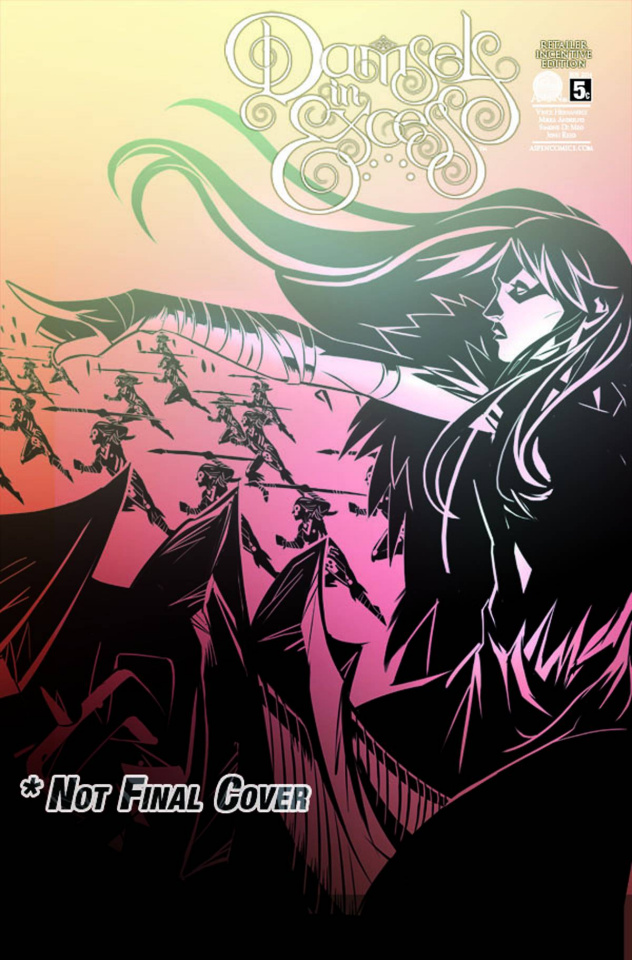 Damsels in Excess #5 (10 Copy Cover)