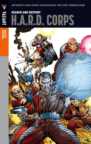 Valiant Masters H.A.R.D. Corps Vol. 1
