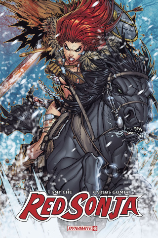 Red Sonja #8 (Meyers Cover)