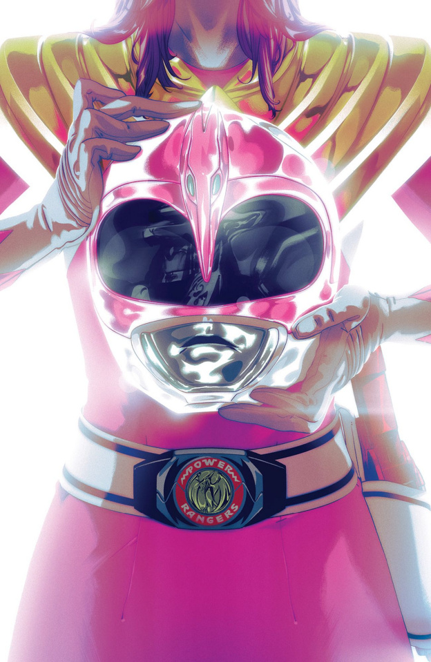 Mighty Morphin' Power Rangers #47 (Foil Montes Cover)