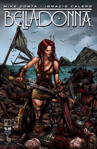 Belladonna #0 (Kickstarter Femme Fatale Cover)