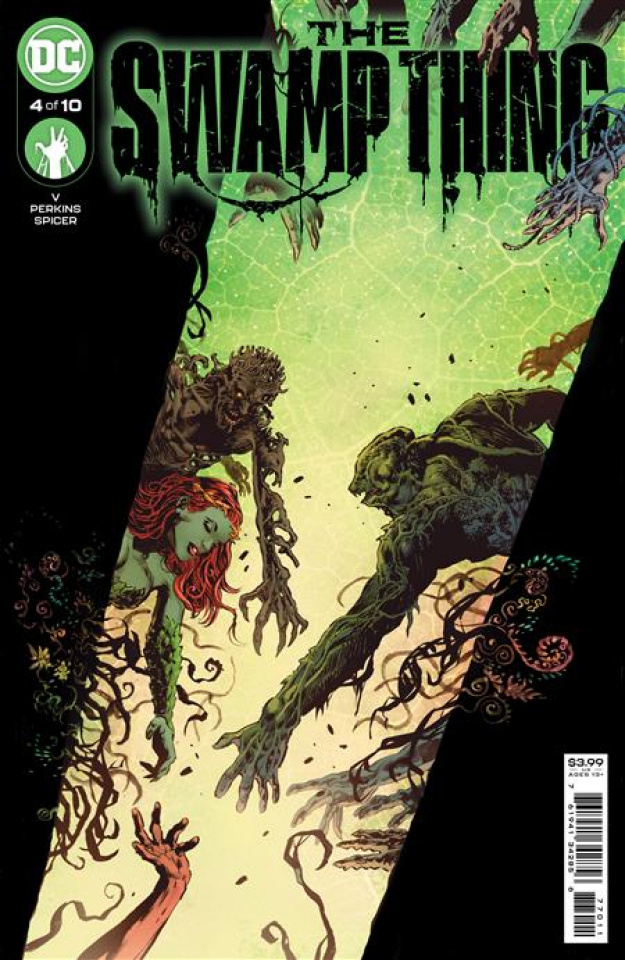 Swamp Thing #4 (Mike Perkins & Mike Spicer Cover)