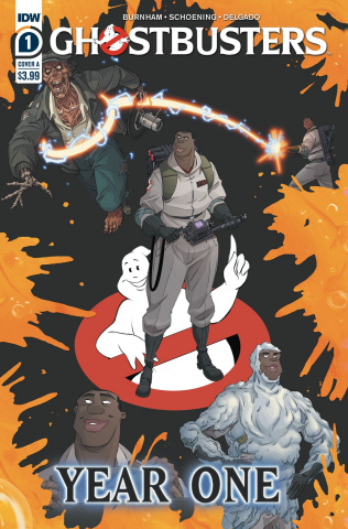 Ghostbusters: Year One #1 (Shoening Cover)