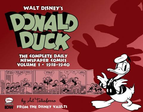 Walt Disney's Donald Duck: The Complete Daily Newspaper Comics Vol. 1: 1938-1940
