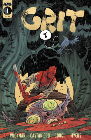 Grit #1 (2nd Printing)
