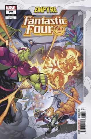 Fantastic Four #22 (Coello Empyre Cover)