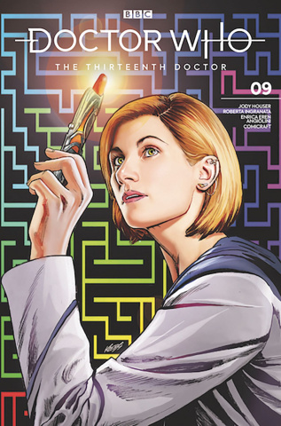 Doctor Who: The Thirteenth Doctor #9 (SDCC 2019 Cover)