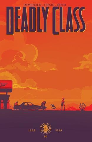 Deadly Class #30 (Craig & Boyd Cover)