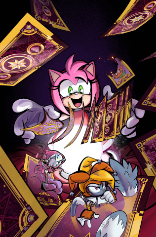 Sonic the Hedgehog #45 (Skelley Cover)