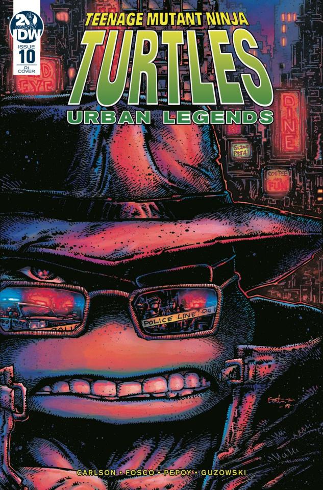 Teenage Mutant Ninja Turtles: Urban Legends #10 (10 Copy Eastman Cover)