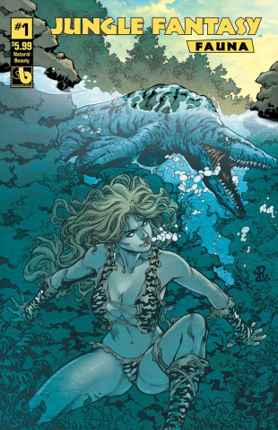 Jungle Fantasy: Fauna #1 (Natural Beauty Cover)