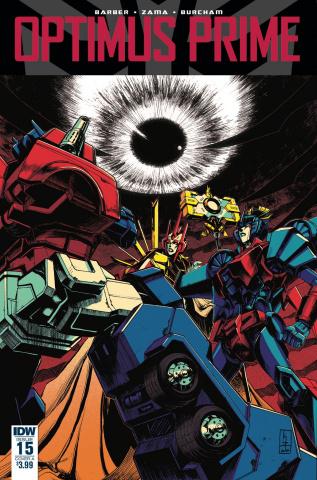 Optimus Prime #15 (Zama Cover)