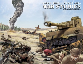War Stories #23 (Wrap Cover)