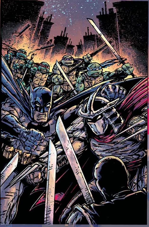 Batman / Teenage Mutant Ninja Turtles #3 (Variant Cover)