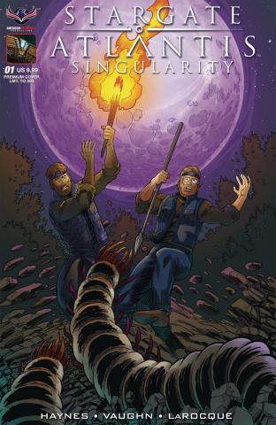 Stargate Atlantis: Singularity #1 (Hilinski Cover)