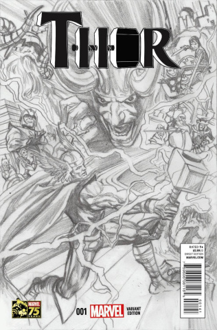 Thor #1 (Ross Sketch Cover)