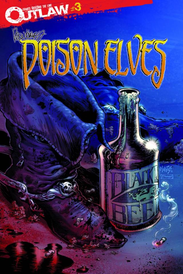 Poison Elves #3 (Montos Cover)