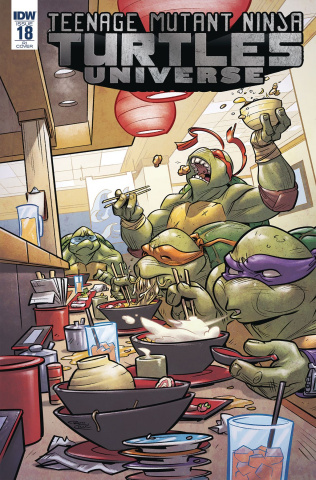 Teenage Mutant Ninja Turtles Universe #18 (10 Copy Cover)