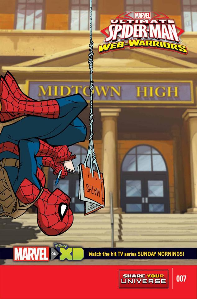 Marvel Universe: Ultimate Spider-Man - Web Warriors #7