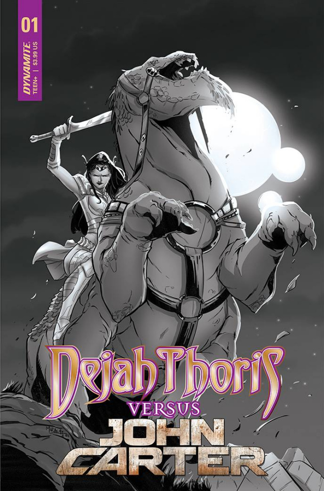Dejah Thoris vs. John Carter of Mars #1 (25 Copy Cover)