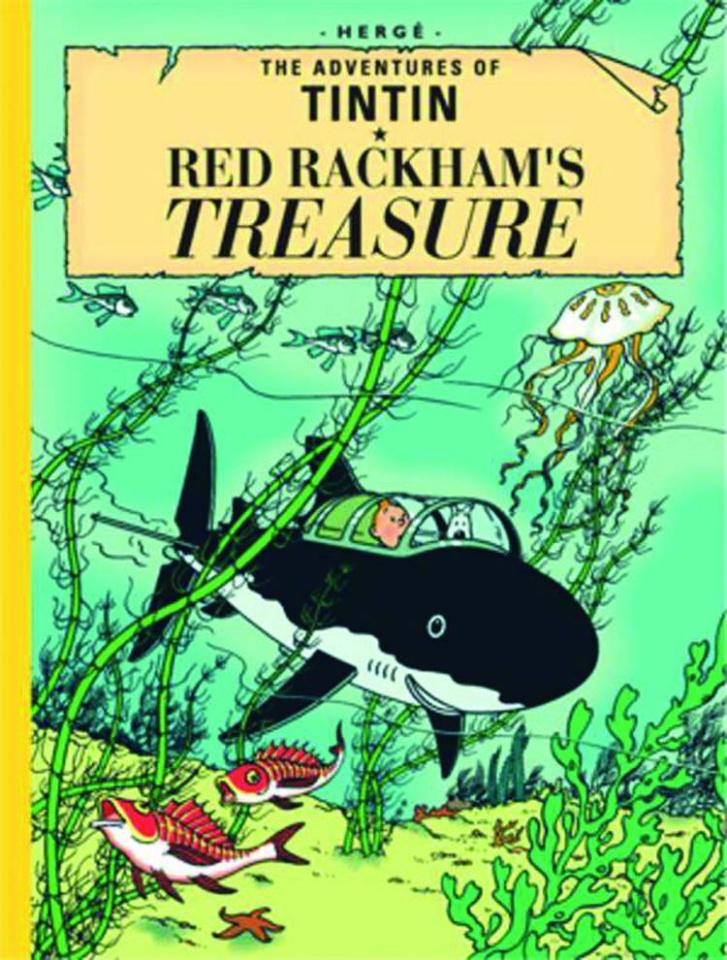 Tintin: Red Rackham's Treasure