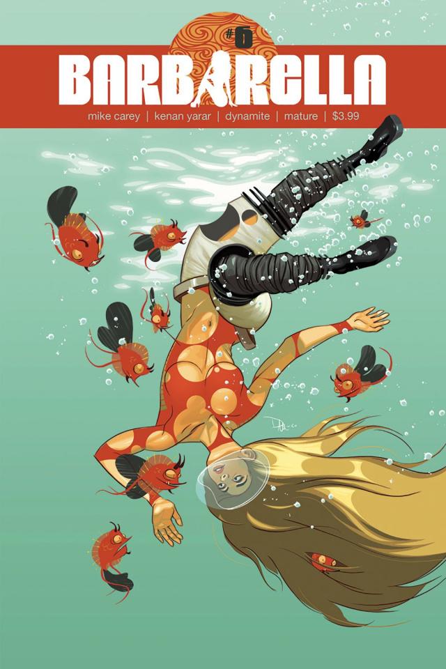 Barbarella #6 (McCaig Cover)