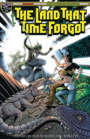 The Land That Time Forgot #1: Fear On Four Worlds (Wolfer Cover)