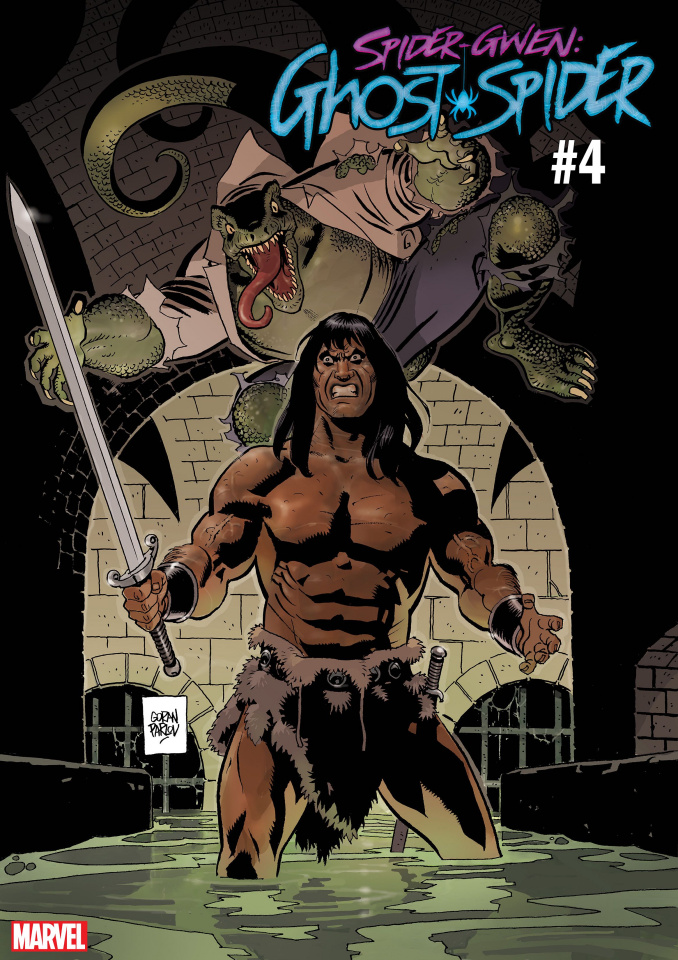 Spider-Gwen: Ghost Spider #4 (Parlov Conan Cover)