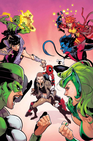 Deadpool and the Mercs For Money #7: IvX