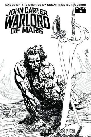 John Carter: Warlord of Mars #6 (10 Copy Sears B&W Cover)