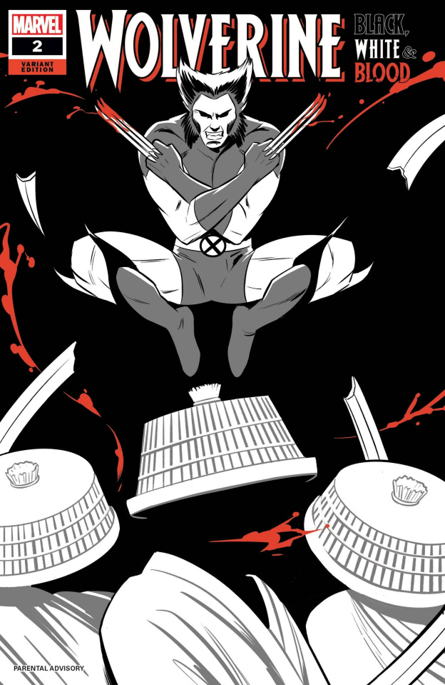 Wolverine: Black, White & Blood #2 (Bustos Cover)