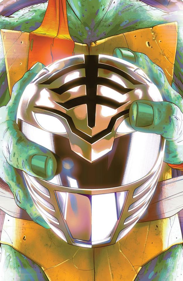 Power Rangers / Teenage Mutant Ninja Turtles #4 (Variant Cover)