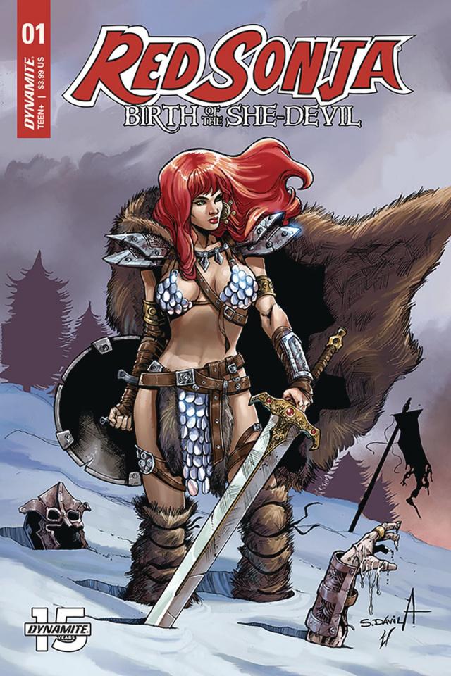 Red Sonja: Birth of the She Devil #1 (Davila Cover)
